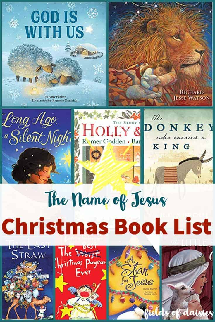 Christmas Book List Names of Jesus