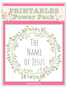 Names of Jesus for kids