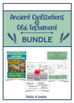 Ancient Civilizations Facts & Printables