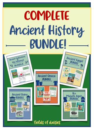 Homeschool Ancient History Printables