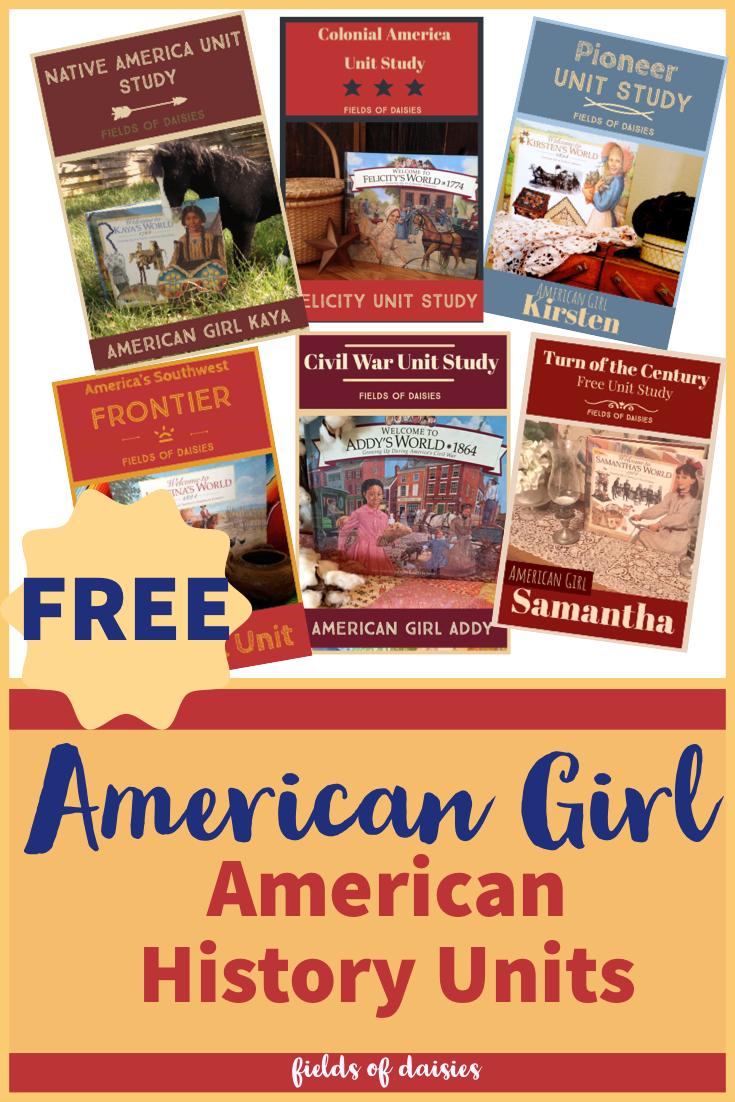 American Girl Homeschool History Unit Studies