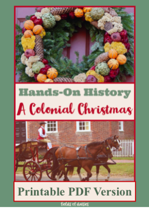A Colonial Christmas History